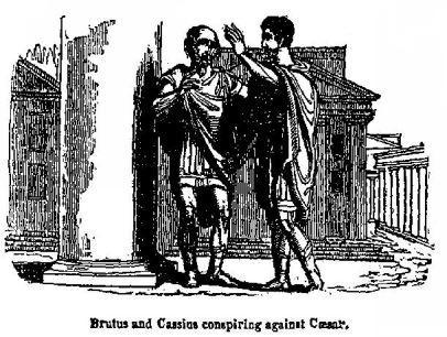 psychoanalysis of caesar and cassius In the play, julius caesar, many characters are objected to possible failure two of the most prominent of these characters are cassius and caesar.