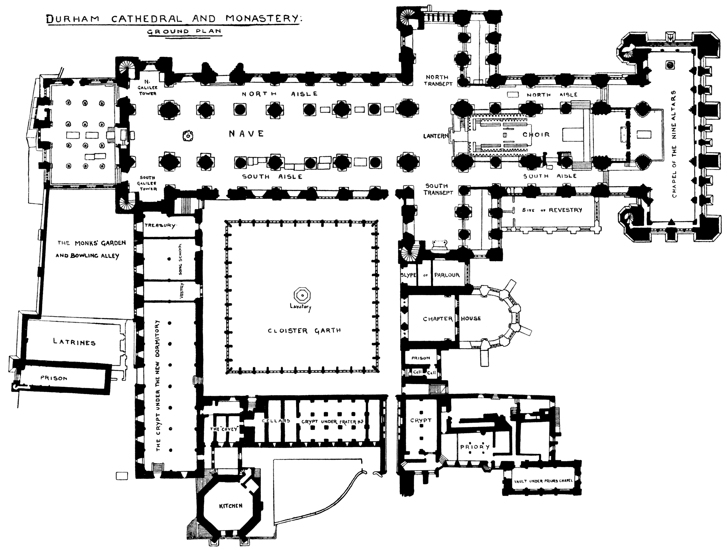 Gothic Cathedral Floor Plan The Image