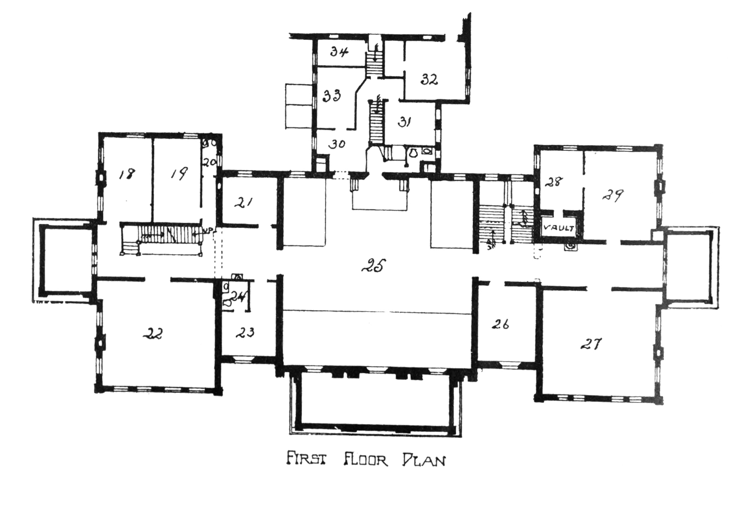 Monticello Second Floor Plan The Project Gutenberg Ebook Of The Court Houses Of A