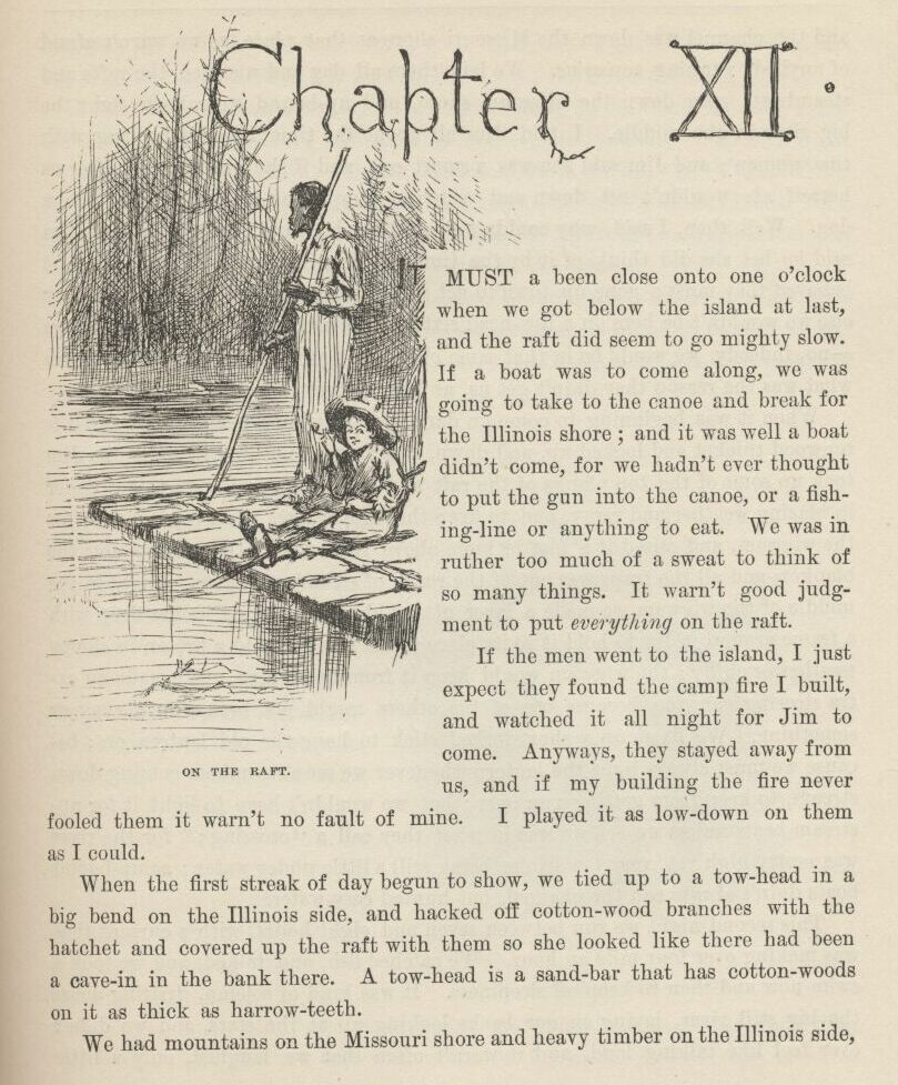 obstacles faced by huckleberry finn and its moral values In the adventures of huckleberry finn, mark twain makes two social outcasts, in the form of huck and jim, the most moral characters of his novel huck and jim are the real templates of correct behavior.